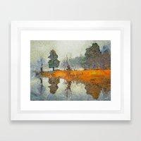 The Thaw In Art Framed Art Print