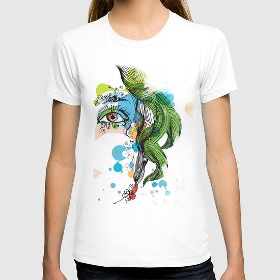 floral girl T-shirt