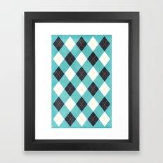 Argyle Framed Art Print