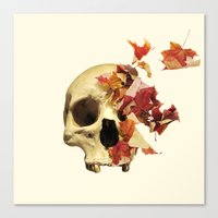 Wither Canvas Print