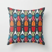 Rocket Parts 2 Throw Pillow