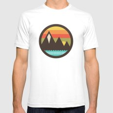 Midsummer's Eve SMALL Mens Fitted Tee White