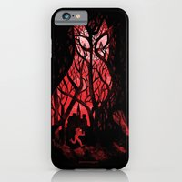 iPhone & iPod Case featuring Mister Poe's Guilt Trip by Anna-Maria Jung