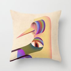 Figure #1 Throw Pillow