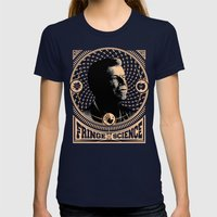 Walter Bishop - Fringe S… Womens Fitted Tee Navy SMALL