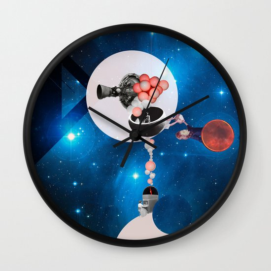Space Flight Wall Clock