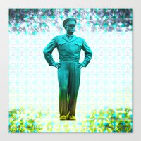 General, Eisenhower Canvas Print