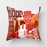 The Good, The Bad, and the Cuddly Throw Pillow