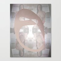 Sexz mask Canvas Print