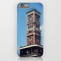 iPhone & iPod Case featuring CLOCKTOWER by CLARIBBA