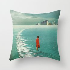 Waiting For The Cities T… Throw Pillow
