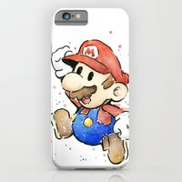 Mario Watercolor iPhone 6 Slim Case