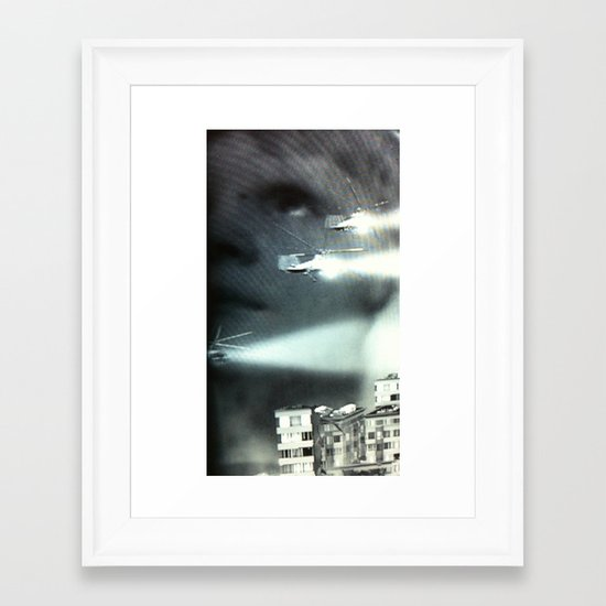 Is this the future I was promised? Framed Art Print