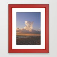 The Cloud Framed Art Print