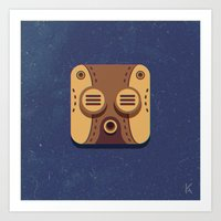 Steam Punk Mask Art Print