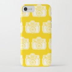 I Still Shoot Film Holga Logo - Reversed Yellow iPhone 7 Slim Case