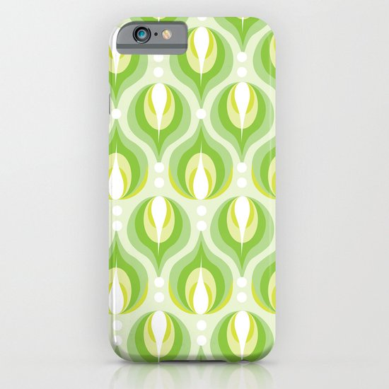 Green Dew Drops iPhone & iPod Case
