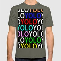 YOLO Mens Fitted Tee Lieutenant SMALL