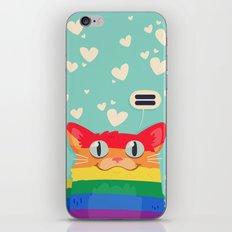 LGBT Cat iPhone & iPod Skin