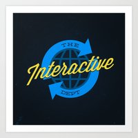 The Interactive Departme… Art Print