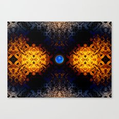Earth And Fire Canvas Print