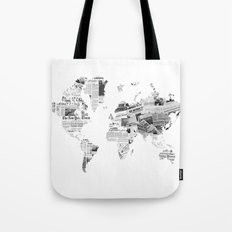 World News Tote Bag