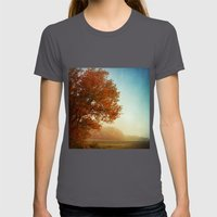 Fall Symphony Womens Fitted Tee Asphalt SMALL