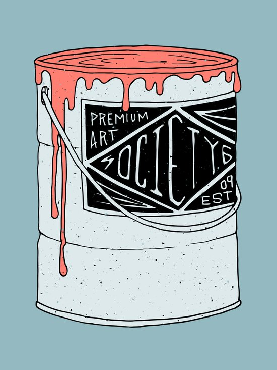PREMIUM PAINT Art Print