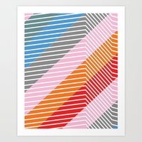 Diagonals Art Print