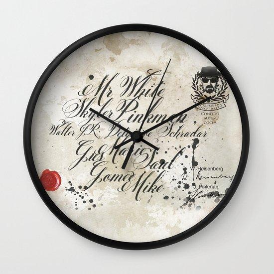 Heisenberg University Wall Clock