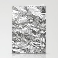 Silver Stationery Cards