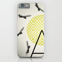iPhone & iPod Case featuring Flywheel (A is for Airplane) by Piccolo Takes All
