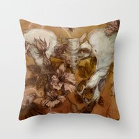 Infertile Throw Pillow