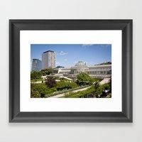 Brussels Botanical Garde… Framed Art Print