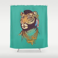 Mr. T(iger) Shower Curtain