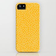 YELLOW DOTS iPhone (5, 5s) Slim Case