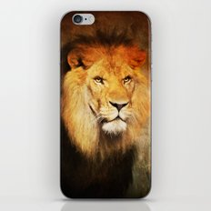 The King's Portrait iPhone & iPod Skin