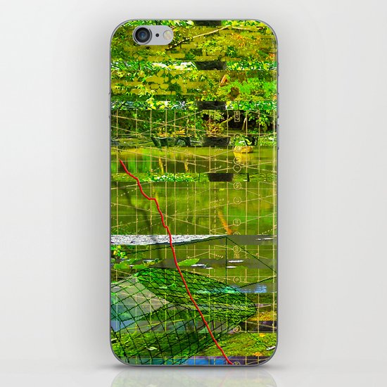 Landscape of My Heart (segment 3) iPhone & iPod Skin