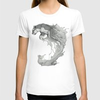 Jump Womens Fitted Tee White SMALL