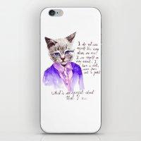 Fashion Mr. Cat Karl Lag… iPhone & iPod Skin