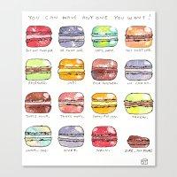 Take Your Pick Canvas Print