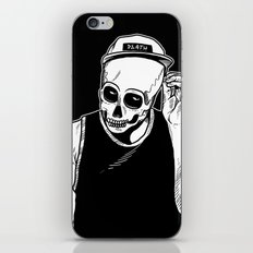 dead cozy boy iPhone & iPod Skin