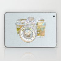 Travel Canon Laptop & iPad Skin
