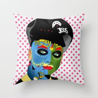 Leigh Bowery Throw Pillow