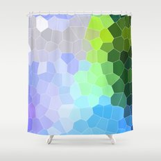 Spring Discovery  Shower Curtain