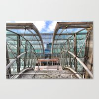 Gare de Luxembourg, Brussels Canvas Print