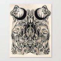 Paranoid Canvas Print