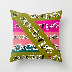 Sick Click Throw Pillow