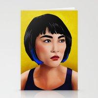Mako Mori (v1) Stationery Cards