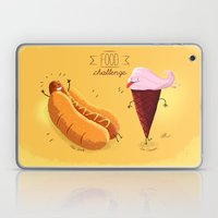 Food Challenge Laptop & iPad Skin